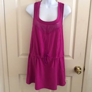 Tops - Lucy Magenta size medium work out tank top